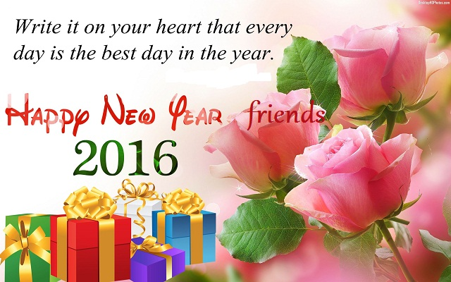 Happy New Year 2016 Poems for friends