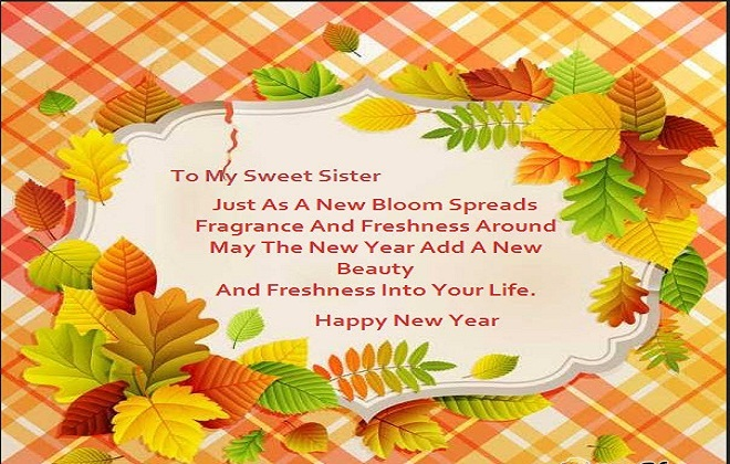 Image result for New Year Wishes Quotes 2017 for Sister