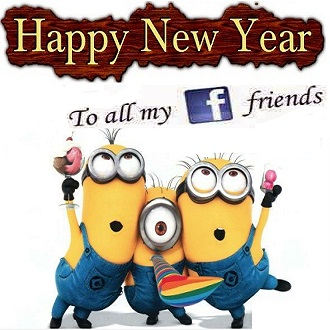 Happy new year 2016 greetings for Facebook friends