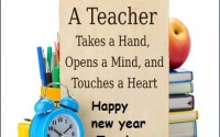 Happy new year quotes for teacher